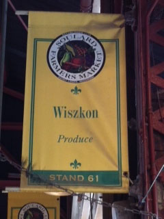 Wiszkon Produce at Soulard Market