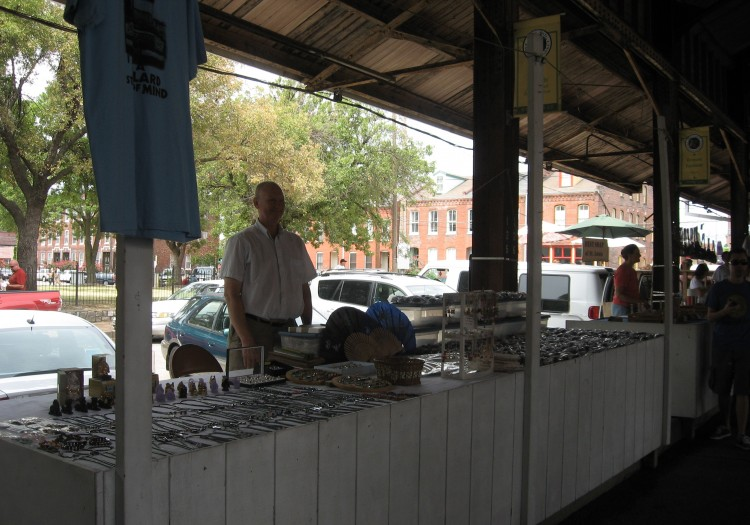 Jewelry and Sunglasses At Soulard Market